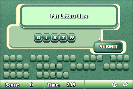 Word Scramble II - screenshot