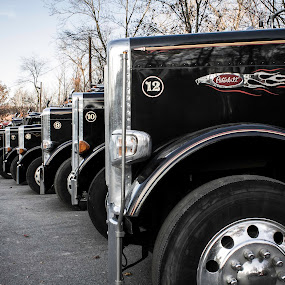 all lined up by Sarah Benoit Weir - Transportation Other