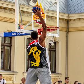 Streetball Challenge 4 by Ovidiu Sova - Sports & Fitness Basketball ( basketball, play, action, slam sunk, sport, game )