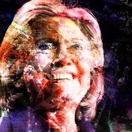 Hillary Clinton 2016 by Austin Lubetkin - Digital Art People