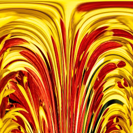 Splash by Pravine Chester - Digital Art Abstract ( abstract, colors, digital art, manipulation )