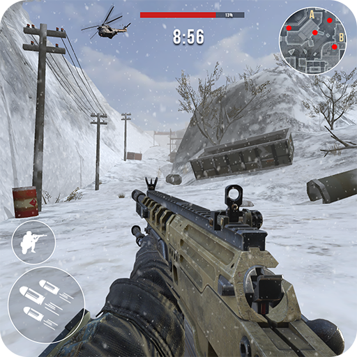 Rules of Modern World War Winter FPS Shooting Game APK Cracked Download