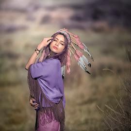 indian by Deny Prasetiyo - People Portraits of Women