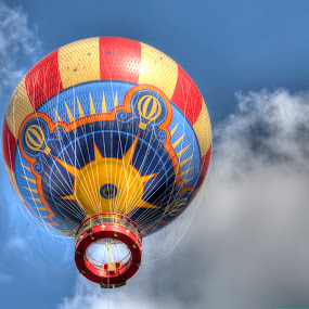 Hot Air Balloon by Damian Allison - Transportation Other ( hot air balloon )