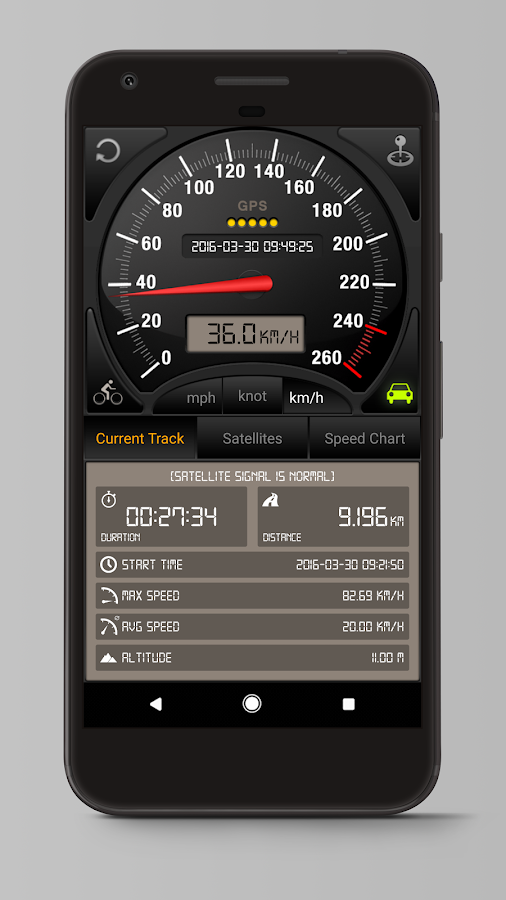 Speedometer GPS Pro Screenshot 1