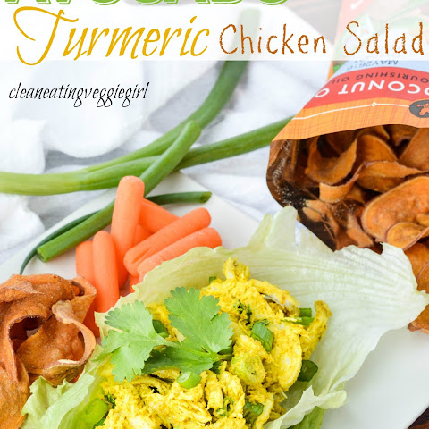 AIP Paleo Avocado Turmeric Chicken Salad