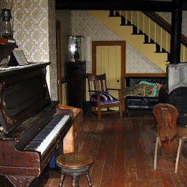 the old west 6 by Nico Kranenburg - Buildings & Architecture Homes ( interior, home, piano, old west, furniture )