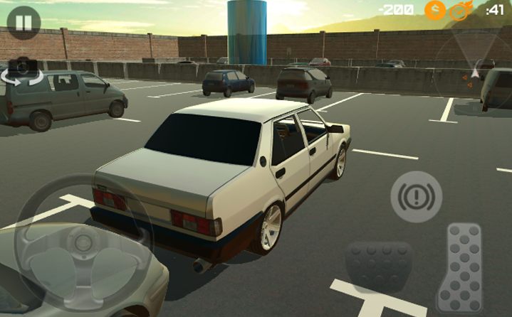 android Amazing Car - Parking Free Screenshot 8