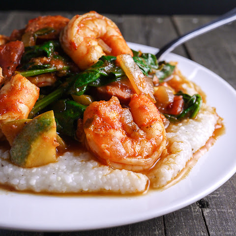 Italian Shrimp and Grits
