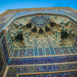 Gur-e Amir Mausoleum by Sergey Sibirtsev - Buildings & Architecture Architectural Detail ( samarkand, mausoleum, gur-e amir, tamerlane, uzbekistan, timur )