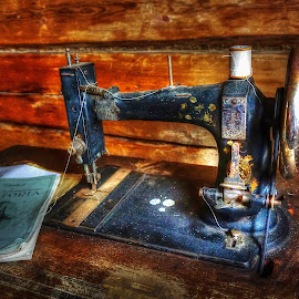 Retro by Jan Helge - Artistic Objects Antiques ( sew, old, machine, antique, norway )