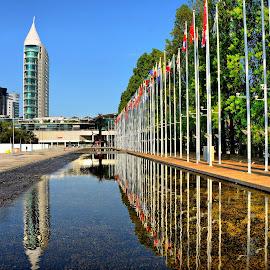 Parque das Nações, Lisbon by Francis Xavier Camilleri - City,  Street & Park  City Parks