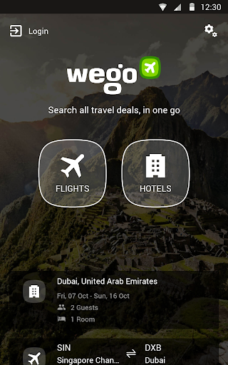 Wego Flights & Hotels For PC