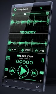Frequency PlayerPro Skin - screenshot