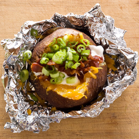 Steakhouse Style Baked Potatoes