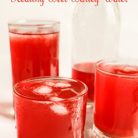 Healthy Beet Barley Water | How to Make healthy Beetroot Barley Juice