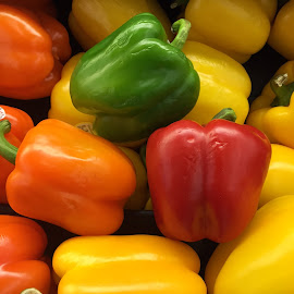 Peppers by Denise Armstrong - Food & Drink Fruits & Vegetables (  )
