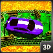 Game  Impossible Volcano car Parking:Lava Driving 3D apk for kindle fire