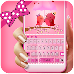 Pink Delightful Keyboard Icon