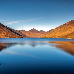Silent Valley by Brens Photo's - Landscapes Mountains & Hills ( water, mountains, sunset, light )