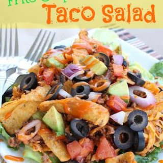Taco Salad With Fritos Corn Chips Recipes