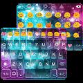 Rainbow Star Emoji Keyboard APK for Bluestacks