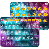 Rainbow Star Emoji Keyboard