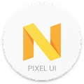 App Pixel Icon Pack-Nougat Free UI apk for kindle fire