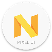 Download Pixel Icon Pack-Nougat Free UI APK on PC