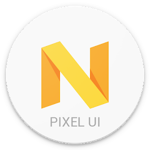 Pixel Icon Pack-Nougat Free UI app for android
