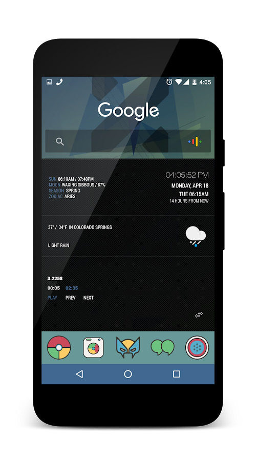 X5 for KLWP Screenshot 3