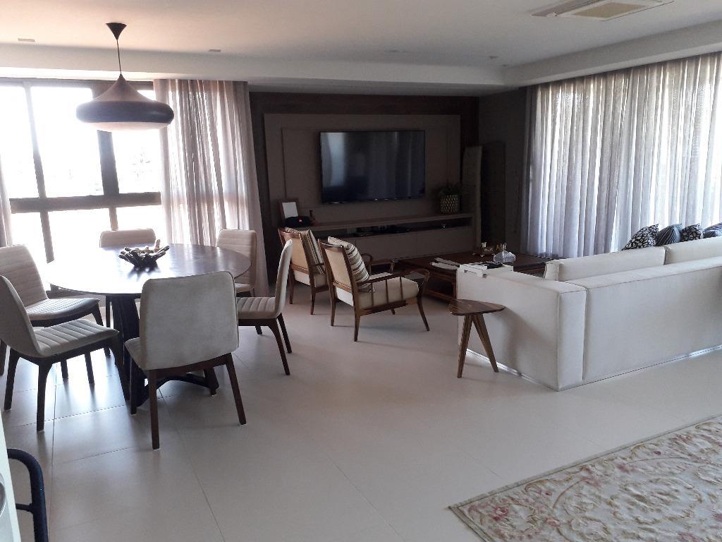Apartamento com 3 dormitórios à venda por R$ 2.300.000 - Cabo Branco - João Pessoa/PB