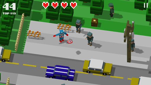 Crossy Heroes: Avengers of Smashy City screenshot 1