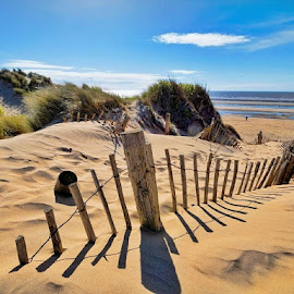 Southport, Formby Beach by Katarzyna Najderek - Landscapes Beaches