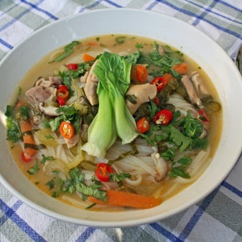 Thai Coconut Soup (Tom Kha Gai)