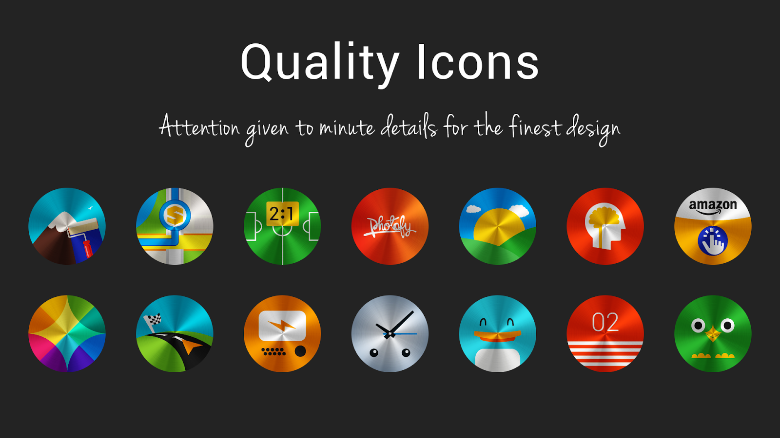 Steelicons - Icon Pack Screenshot 4