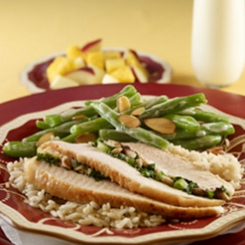 Holiday Stuffed Turkey & Green Bean Casserole