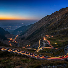 Transfagarasan_2017 by Mircea Mihai - Landscapes Mountains & Hills ( #mountain, #, #transfagarasan, #romania, #amazing, #view, #road, #longexposure, #beautiful, #lights, #travel,  )