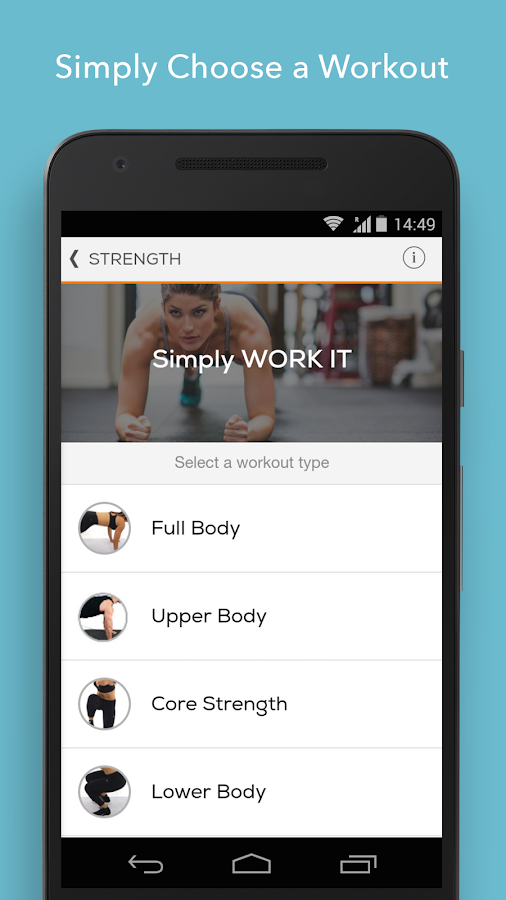 Sworkit Personalized Workouts Screenshot 1