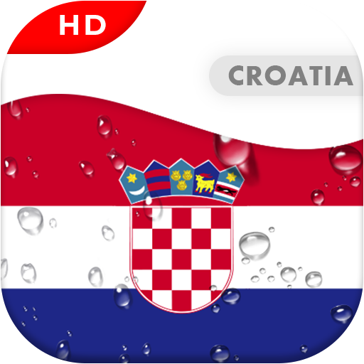 Android aplikacija Croatia Flag 3D live wallpaper na Android Srbija