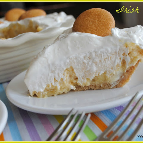 Irish Banana Cream Pie