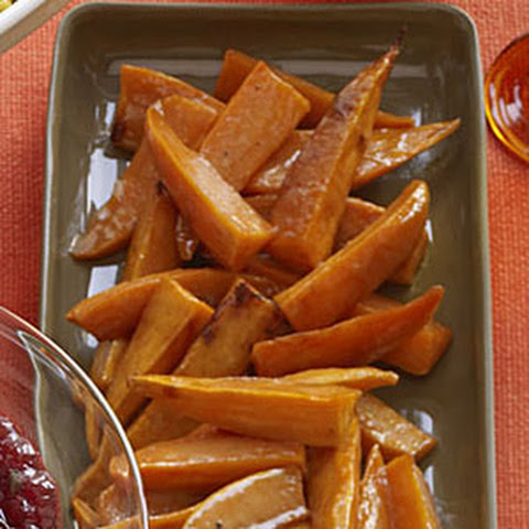 Maple-Glazed Roasted Sweet Potatoes