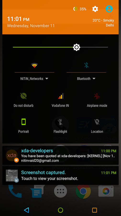 NEON COLORS - Layers Theme Screenshot 9