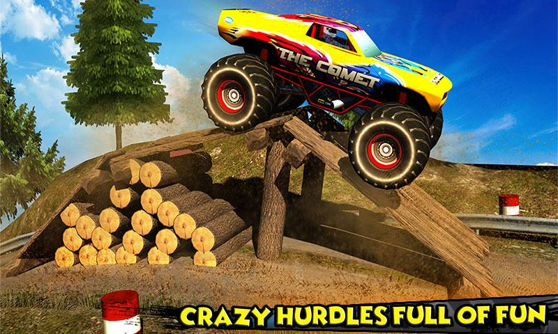 Monster Truck Rider 3D Screenshot 0