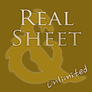 Real Sheet ∞: D&D 4th + Dices APK