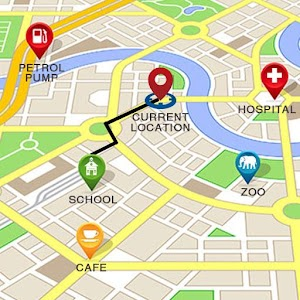 GPS Route Finder:Map Navigator