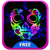 Download Rainbow Skull Keyboard APK to PC