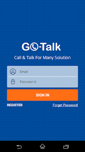 GO-Talk - screenshot