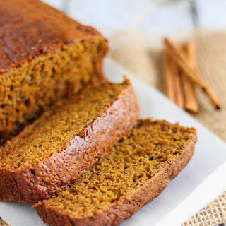 Pumpkin Cranberry Banana Bread