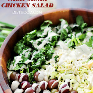 California Chicken Salad with Creamy Yogurt Dressing